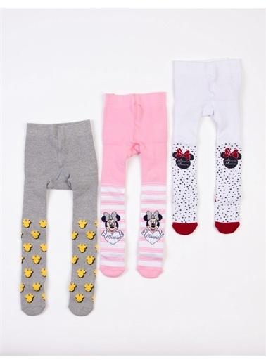 Minnie Mouse Çorap Beyaz